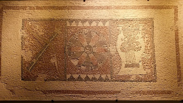 Original Mosaic of the Temple of Apollo in Letoon World Heritage Site
