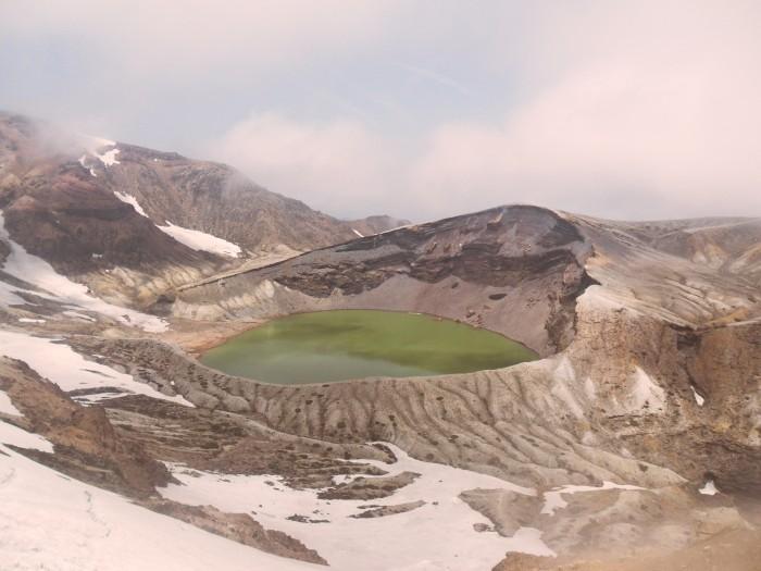 Zao no Okama- Zao Crater Lake in Yamagata Prefecture. June 2011