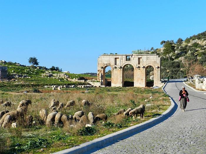 The Arc of Triumph, Patara Ancient Site