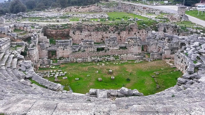 Theatre, Xanthos World Heritage Site