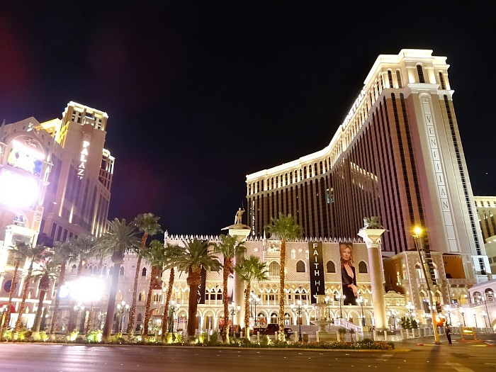 Best things to do in Las Vegas - getting on a tour amongst many hotels, here is The Venetian hotel