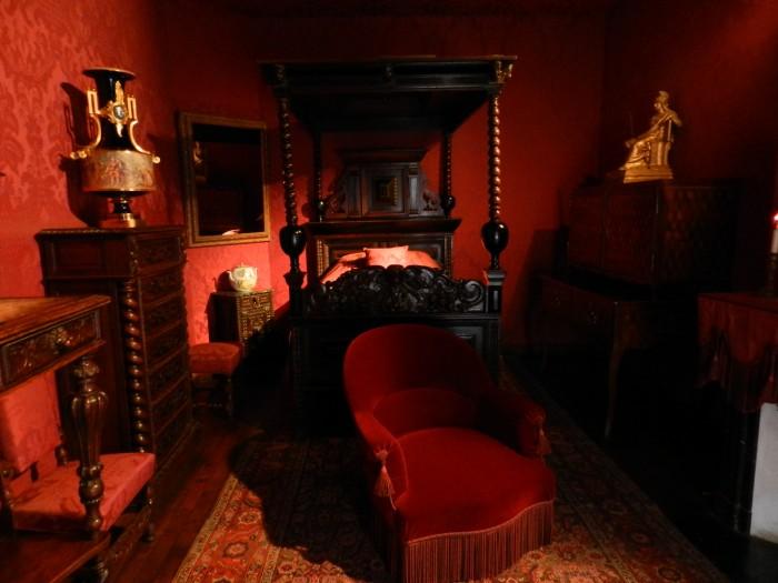 Victor Hugo's Bed(room), Maison de Victor Hugo, Bastille
