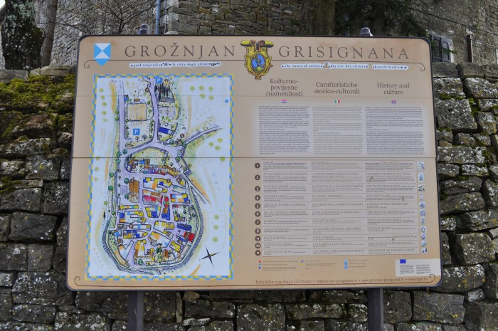 City of Grožnjan, Istria Croatia