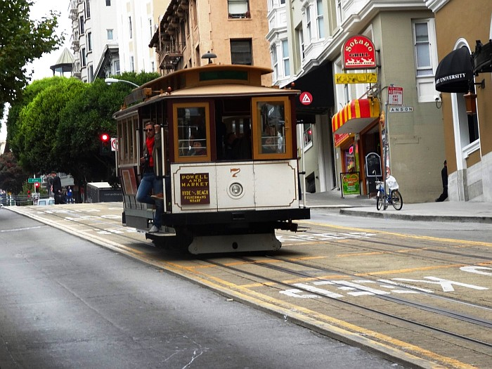 Places to visit in San Francisco - The historic trolley