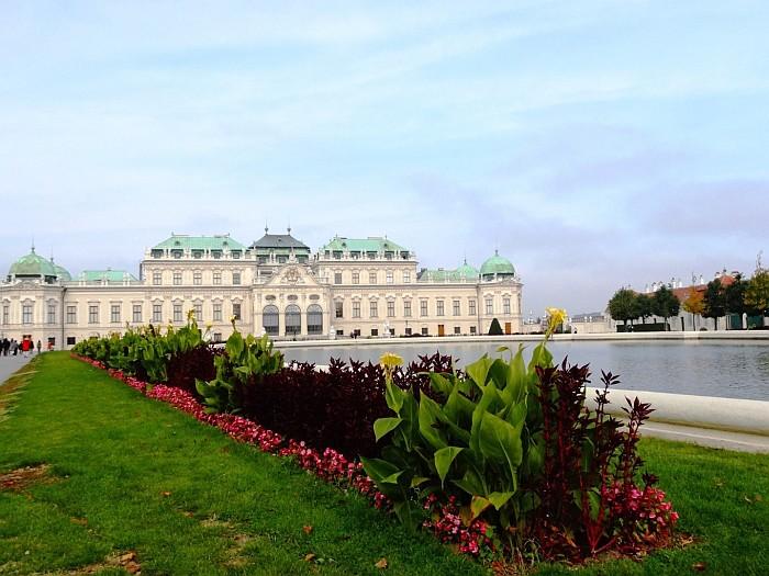 The Belvedere Palace Vienna