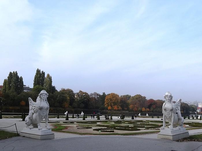 The Gardens of Belvedere Palace Vienna