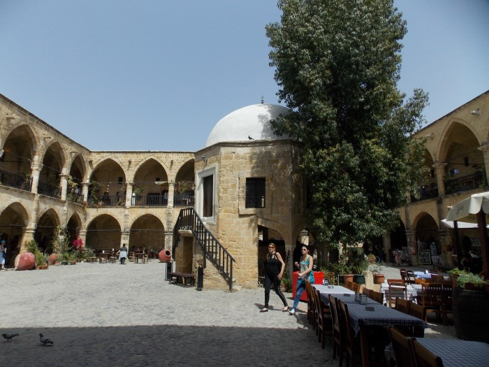 The courtyard of the Büyük Han