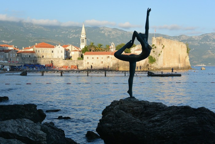 Montenegro - the old city part of Budva