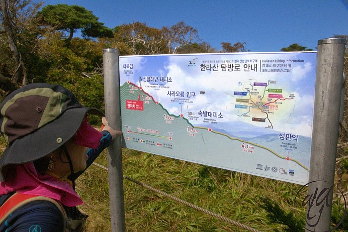 Trekking possibilities on Jeju Island - South Korea