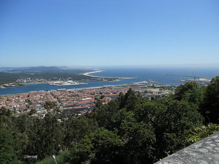 The view from the church of Santa Luzia