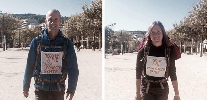 3000 km Without Money - Gregor and Urska Kelt