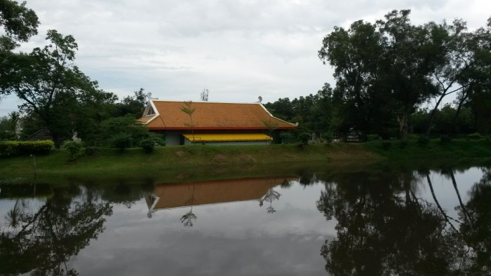 Talad Park in Nakhon Si Thammarat where there is also City Museum.