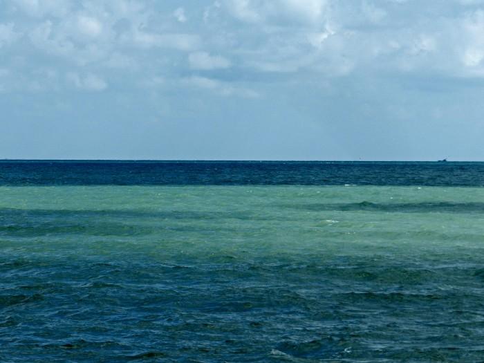 view from Hat Sai Kaeo beach, Nakhon Si Thammarat
