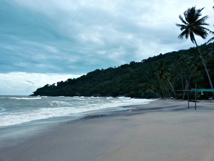 Khanom, Nakhon Si Thammarat. Beaches and the landscapes on the side of Thai Sea are as beautiful as those on Andaman side.