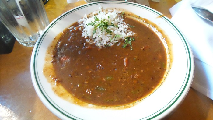 New Orleans - Shrimp gumbo