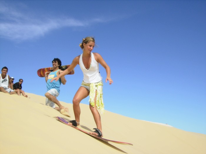 Things to do in Cape Town South Africa - Sandboarding