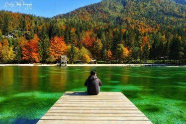 Lake Jasna – heaven on earth
